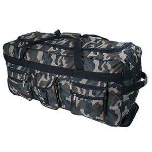 X Large 30 Wheeled Holdall Travel Luggage Suitcase Bag Blackredolivenavypinkcamo Camo