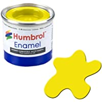 Humbrol AA1095 - Pintura de esmalte, color amarillo (99 Lemon Matt), 14 ml