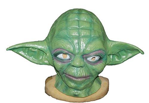Star Wars Master Yoda Latex Mask Full Headgear Mask Halloween Christmas