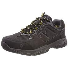 Jack Wolfskin Men's MTN Attack 6 Texapore Low M Wasserdicht Rise Hiking Shoes, (Burly Yellow 3800), UK
