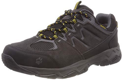 Jack Wolfskin MTN Attack 6 Texapore Low M, atmungsaktive & wasserdichte Wanderschuhe für Herren, Wanderschuhe mit schnell trocknendem Futter, komfortable Outdoor Schuhe, EUR42.5