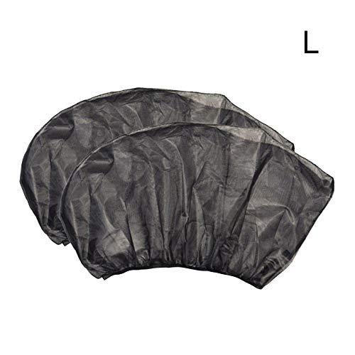 Krystallove 2 Stücke Autoseitenscheibe Sonnenschutz Auto Gaze Camping Selbstfahrende Ausrüstung Moskito Abdeckung Auto Anti-Moskito Vorhang