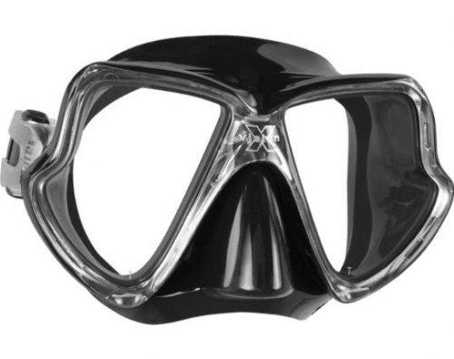 Mares Erwachsene Tauchmaske X-Vision Mid Black, M