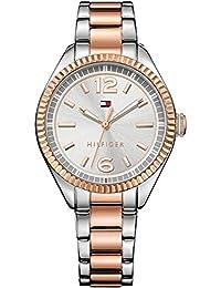 Tommy Hilfiger Damen-Armbanduhr Analog Quarz Edelstahl beschichtet 1781148