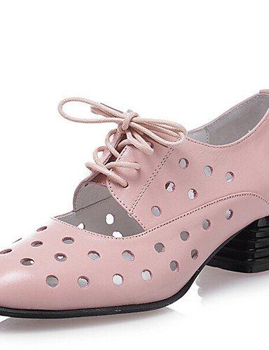 ZQ Scarpe Donna-Stringate-Tempo libero / Ufficio e lavoro / Formale / Casual / Serata e festa-Cinturino alla caviglia / Comoda / Punta , pink-us8.5 / eu39 / uk6.5 / cn40 , pink-us8.5 / eu39 / uk6.5 /  pink-us7.5 / eu38 / uk5.5 / cn38