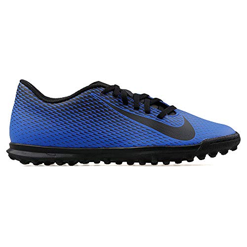 Nike Bravata II Tf, Scarpe da Calcetto Indoor Uomo, Multicolore (Racer Blue/Black 400), 43 EU