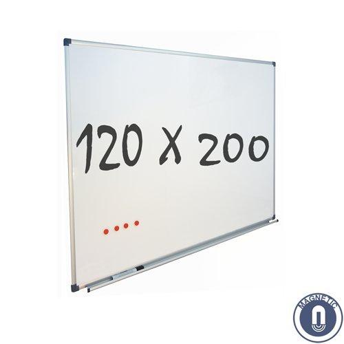 'Pizarra blanca Eco–magnético–120x 200cm