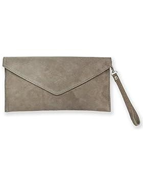 Wildleder Clutch / Envelope Clutch