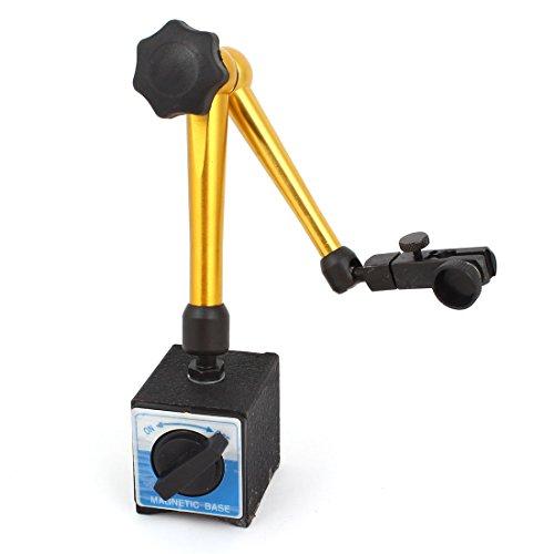 Messing-anzeige (Schwarz Gold Magnetschalter Messing Halter Stand Für Test Messgerät Messuhr)
