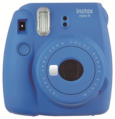 Fujifilm instax mini 9 + 10 mini film istantanea per stampe formato 62x46 mm, blu