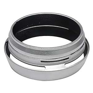 Anneau adaptateur de filtre + Lens Hood pour Fujifilm Fuji X100 remplacer l'argent LH-X100