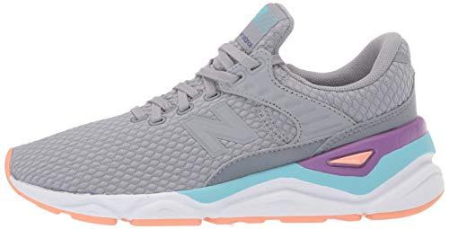 New Balance Damen X-90 Sneaker, grau, One Size - 5