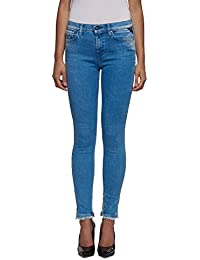 Replay Joi Ankle Zip, Jeans Femme