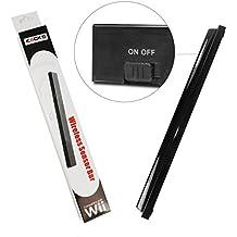 G-HUB® - Nintendo Wii / Wii U INFARED BARRA de SENSORES para la detección de TV de WiiMote Controller (original del mando de Wii) y / o inalámbrica Wii-U Control Pad - Diseñados por G-HUB® Exclusivamente para Nintendo Wii y Wii-U Consola de Juegos para Movimiento Detección Accesorios