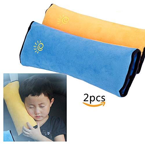 Almohadilla de cinturón de 2 piezas de Limeo, Cojín de hombro para niños de bebé en Cinturón de seguridad del automóvil, Almohadilla de hombro de la cubierta de seguridad, Almohada del cinturón