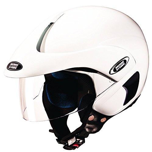 Studds Marshall Half Helmet (White, XL)