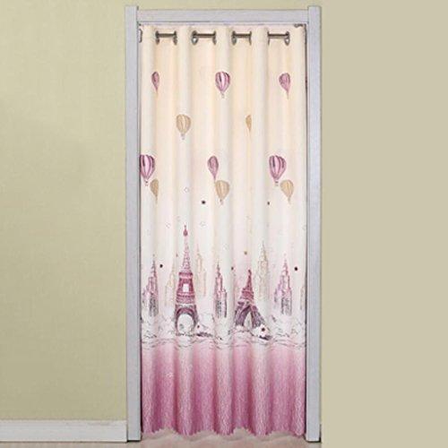 Liuyu · Maison de Vie Porte Rideau Tissu Rideau Cut Off Double-Face Épaississement Ménage Cuisine Chambre Baie Fenêtre (Couleur : Violet, Taille : 190 * 150cm)