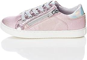 RED WAGON Sneaker Stringata Metallizzata Bambina , Rosa (Pink Mix With Metallic Sheen), 32 EU