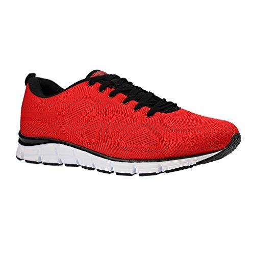 Bild von Boras Sneaker in Übergrößen Rot 5203-0077 große Herrenschuhe