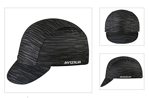 Imagen de mysenlan hombre gorro de ciclismo deporte  de sol transpirable cap para running al aire libre casco sombrero alternativa