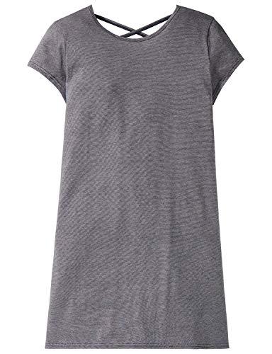 Schiesser Mädchen Sleepshirt 1/2 Nachthemd, (Blau 800), 140 (Herstellergröße: XS) - Rosa Kurzer Schlafanzug