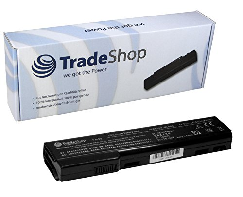 TradeShop Premium Akku 10,8V/11,1V 4400mAH für HP EliteBook Elite Book 8460p 8460w...