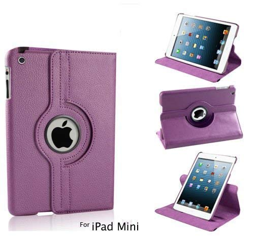 Shoppers Point Premium 360 Degree Rotating PU Leather 360 Degree Rotating Stand Flip Cover For Apple ipad Mini 1 Mini 2 Mini 3