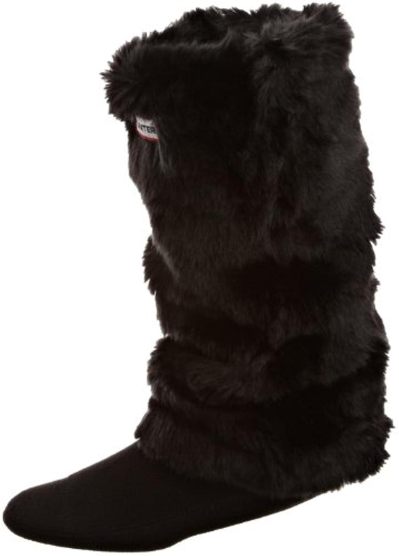 Hunter Grizzly Long Cuff Welly Socks   Black   M