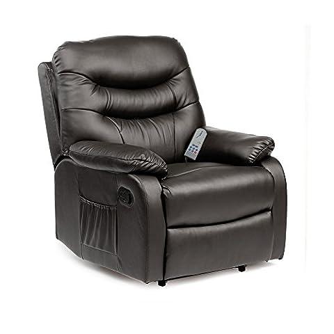 Hebden Massage Manual Reclining Chair (Black)