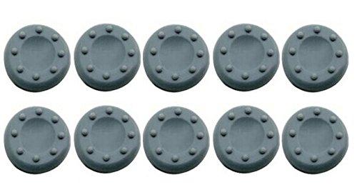 scrox Analog Stick Cap gilt für die Spieler 5Pairs/10PCS auf Xbox One/Xbox360/PS4/PS3Kieselgel Small grau