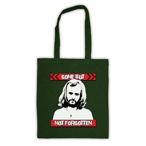 John Peel Gone ma non dimenticato Tote Bag Verde scuro
