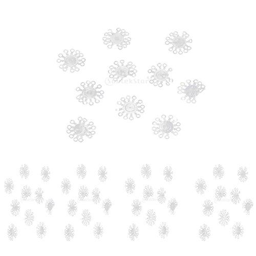 MagiDeal 50 Stücke Elastische Gummi Karpfen Pellet Köderbänder für Karpfen Grab Fischen