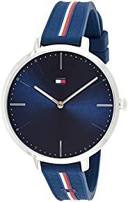 Tommy Hilfiger Women's Navy Dial Navy Silicone Watch - 178