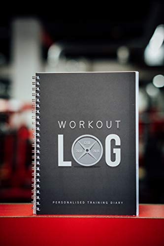 Workout Log Gym (Grey - Wire-Bound) - XL A5 Sized Training and Gym Diary - Set Your Fitness Goals, Track 100 Workouts and Record Your Progress in Clear Detail Img 4 Zoom
