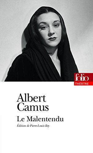 Le Malentendu (Folio Théâtre) por Albert Camus
