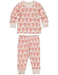 Masala Baby Kid's Organic Pajama Set Monkey Madness Sleepwear