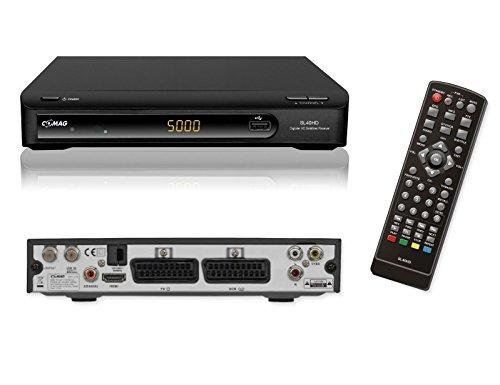 COMAG 11045-2 SL 40 HD-TV Satelliten Receiver PVR Ready (USB 2.0 für externe Festplatte/USB-Stick, Scart, HDMI) schwarz