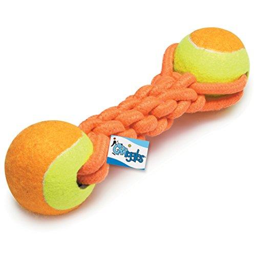 Grriggles Ruff Seil Ball & Gummiknochen Spielzeug