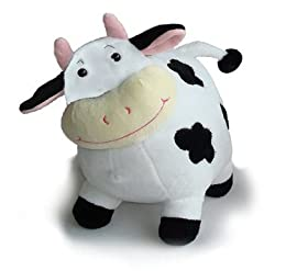 Vaca de Peluche. ( 16 cm. aprox.)