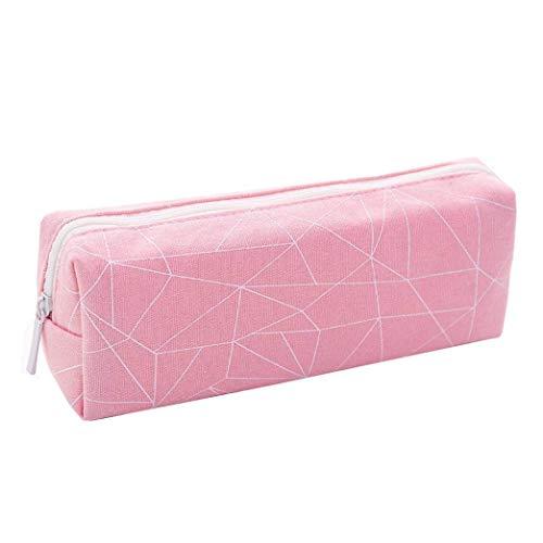 Bobopai Pencil Case, 1PCS Cute Simple Pencil Pen Case Waterproof Cosmetic Storage Bag Pouch Purse for Students Adult (D) -