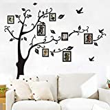 QTXINGMU Small/Medium/Large Fotorahmen Family Tree Wall Sticker Kunst Home Dekorationen Wohnzimmer Aufkleber Poster