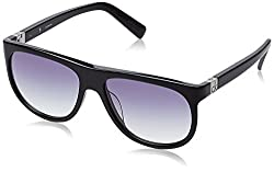 Calvin Klein UV protected Wayfarer Men Sunglasses (Ck 4221 001 56 S|56 millimeters|Grey)