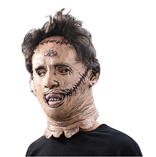 Kostüm Beängstigend Kleinkind - FIREWSJ Halloween Maske Maske Beängstigend Cosplay Halloween Kostüm Stütze Spielzeug Party Latex Maske
