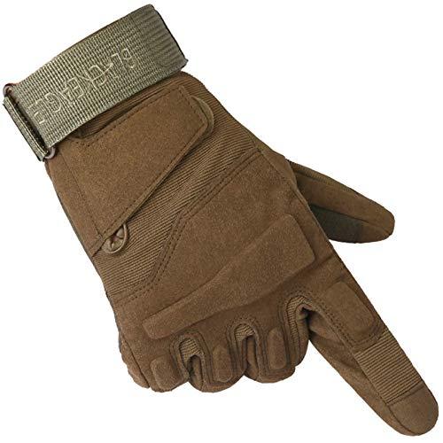 Blisfille Special Forces Black Hawk Armee Voller Finger Handschuhe Rutschfeste Tragen Im Freien Klettern Handschuhe Handschuheherrenarmy Green Size X Large