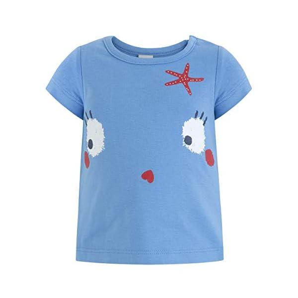 Tuc Tuc Camiseta Punto Azul Niña Arrecife de Coral Bebés 1