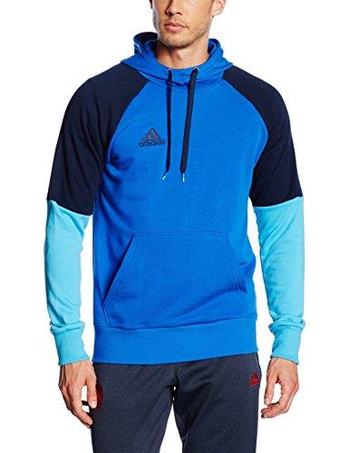 adidas Herren Kapuzenpullover Condivo 16 Hoody, Blue/Collegiate Navy/Bright Cyan, S, AB3157 (Kapuzen-pullover Collegiate)