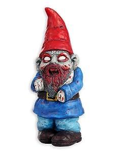Zombie Gartenzwerg-Figur aus Terrakotta Handgefert
