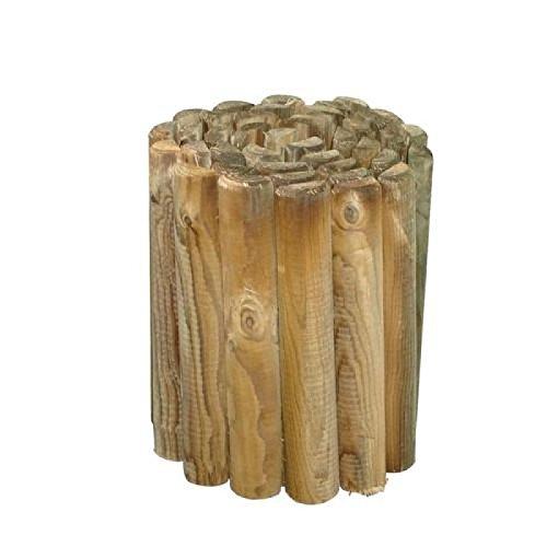 PAPILLON 8044835 8044835-Bordo Madera con Rollo de diámetro 5 x 30 x 250 cm, Marrón, 30x30x31 cm