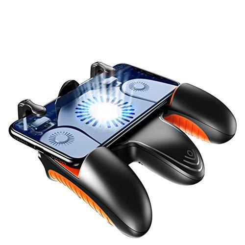 anne210 PUBG Mobile Game-Controller, Mobile Game-Controller für PUBG/Fortnite/Rules of Survival Gaming Grip und Gaming Joysticks für Android iOS Handy - Bewegen Sie Ps4 Einfach Die