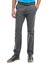 engbers Herren Chino straight in moderner Optik, 23107, Blau
